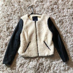 AE Faux Sherpa Jacket